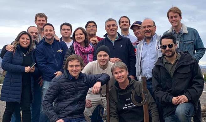 Foto Grupal de socios CAS