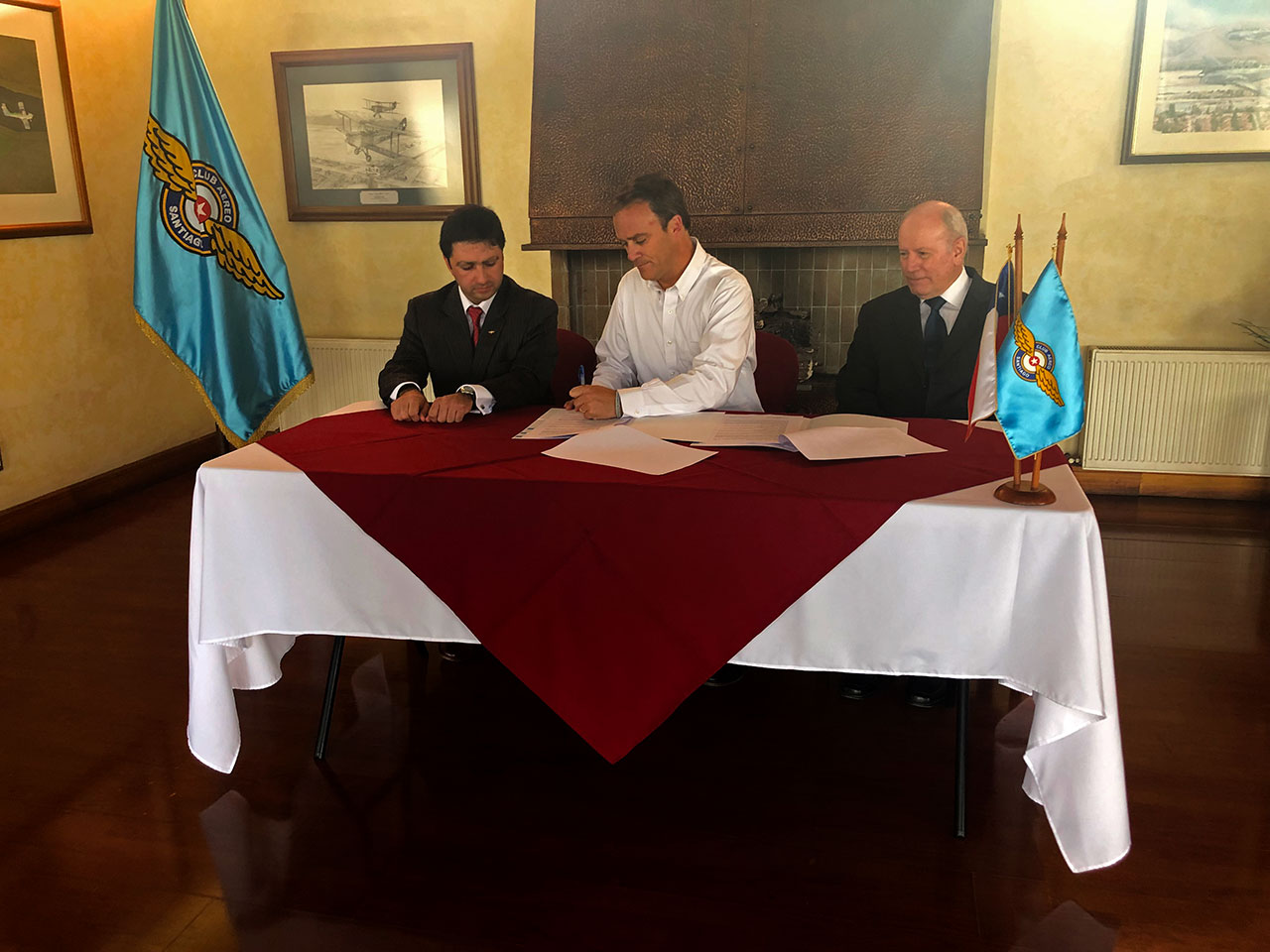 Convenio de Cooperación Ministerio de Bienes Nacionales y Federación Aérea de Chile