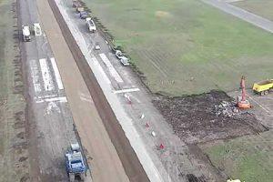 Restauración pista Aeródromo Eulogio Sánchez (SCTB)