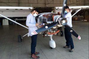 Área de Mantenimiento del Club Aéreo de Santiago fue Certificada por la DGAC
